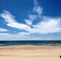 #portugal #portugal #lisbon #lisboa #beach #beachlife #ocean #atlantic #atlanticocean #sand #sky #nature #naturelovers