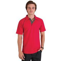 Show details for Raglan Trim Polo Golfers, Polo Shirt, Mens Tops, Shirts, Fashion, Moda, Polos, Fashion Styles, Fashion Illustrations