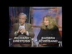 Barbra Streisand  Richard Dreyfuss  ( NUTS ) Interview.