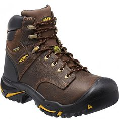 1014600 KEEN Men's Mt Vernon 6IN Work Boots - Cascade Brown www.bootbay.com