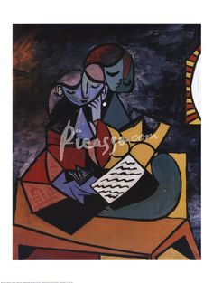 Lecture Fine-Art Print by Pablo Picasso at Picasso.com