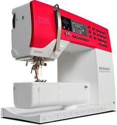 This BERNINA 530 Swiss Edition can be yours if you participate in the BERNINA Pin to Win contest [Promotional Pin]