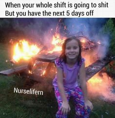 100 Nursing Memes That Will Definitely Make You Laugh - Nursing Meme - Nursing: when you're not sure whether it's Saturday or Tuesday. Nurse humor The post 100 Nursing Memes That Will Definitely Make You Laugh appeared first on Gag Dad. Nursing Memes, Funny Nursing, Nursing Quotes, Nurse Life, Work Humor, Work Stress Humor, Work Memes, Gym Humor, School Humor