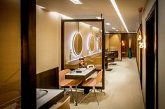 Reis design recently created this salon, beauty & medi-spa concept for Ruma salons in Southampton.