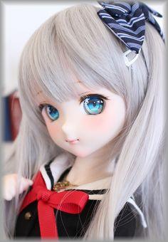 Feel cute Kawaii Doll, Kawaii Anime Girl, Beautiful Barbie Dolls, Pretty Dolls, Anime Drawing Styles, Real Doll, Anime Toys, Realistic Dolls, Asian Doll