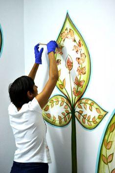 """""""Viata in padure"""" - cu gandul la copii din spital - Coloranda Mural Art, Art Projects, Art Designs, Wall Art, Mural Wall Art, Wall Murals"""