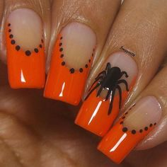 Spooky Variety Sheet Vinyls - Twinkled T - 2 Holloween Nails, Halloween Acrylic Nails, Halloween Nail Designs, Cute Halloween Nails, Holiday Nails, Christmas Nails, Fall Nails, Cute Nails For Fall, Acrylic Nail Designs