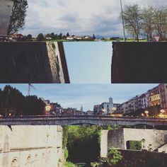 Resumen de #Girona en 4 fragmentos: cielos increíbles murallas imponentes grandes anocheceres pasajes con verdes preciosos. #city #catalunya #catalan #travel #traveler #trip #amazing #clouds #bridges #walls #green #sky #instagrammers #instagood #instacool #instapic #instagram