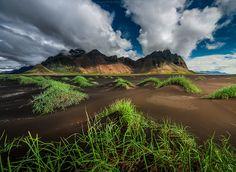 Cloudy Vestrahorn | Flickr - Photo Sharing!