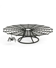 Take a look at this Spider Web Cake Stand on zulily today!