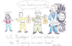 UC budget crisis: where is the money going to come from?     from Daily Cal: http://www.dailycal.org/2011/09/20/uc-budget-crisis-where-is-the-money-going-to-come-from/