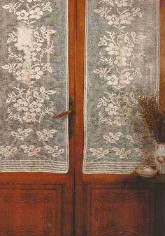 """#7 Cortina a Crochet """"Ramos de Flores"""""""