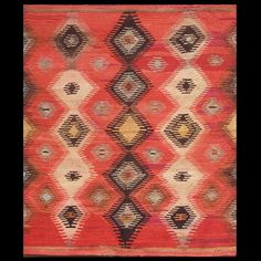 Stock Id: #20333  General Rug Type:       American  Specific Rug Type:       Navajo  Circa: 1930  Color: Red  Origin: USA  Width: 3' 8'' ( 111.8 cm )  Length: 4' 1'' ( 124.5 cm )