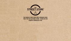 The Street Store - Hang up. Help out