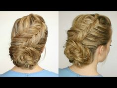 Dutch Fishtail Low Bun | Missy Sue - YouTube
