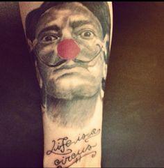Tattoo salvador dalì