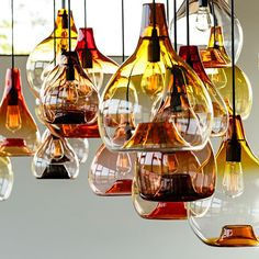 The Waterdrop Pendant Light is inspired by their iconic water jug. http://www.ylighting.com/esque-studio-waterdrop-pendant-light.html