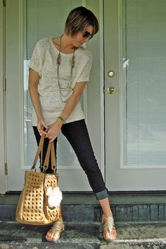 CUTE Birkenstocks (and jeans. Cute outfit!!)