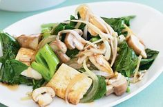 A stir-fry like this one meets all your veggie needs and is easy to knock up after work