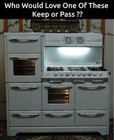 This is a dream stove