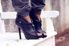 Cool Shoes For Girls | black shoes, cool, fashion, girl, girls - inspiring picture on Favim ...