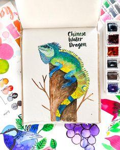 watercolor on Khadi paper