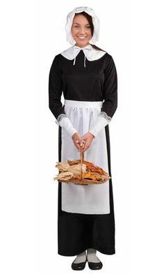 Adult Lady Pilgrim Costume Set