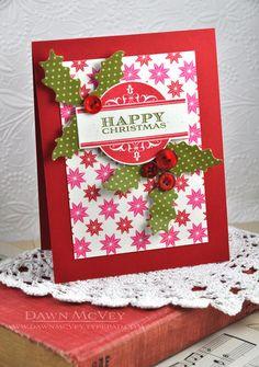 una tarjeta navidea fuera de los habitual preciosa