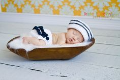 Little Miss/Mr Sailor Hat
