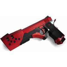 yuri custom guns BadAss! ❤ liked on Polyvore featuring weapons