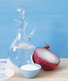 After chopping onions, scrub your hands with salt and a splash of vinegar to eliminate the smell.