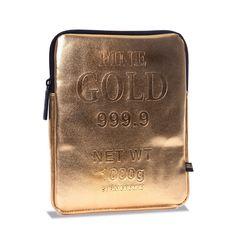 Gold Brick iPad Case