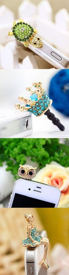 Your phone needs jewelry too. Try out one of our little charms!