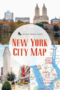 We have gathered our favourite New York sights in this article based on how much time you can spend in New York City. You can find the perfect itinerary for a whole week in NYC. New York City Vacation, New York City Map, New York City Travel, City Maps, New York City Images, New York City Guide, Nyc Itinerary, Maputo, New York City