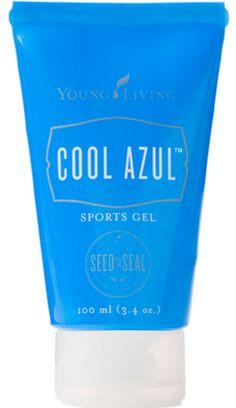 Finally, a powerful, non-toxic sports gel infused with 10ml Essential oils plus Aloe Vera. http://www.ylwebsite.com/erinchamerlik/cool-azul
