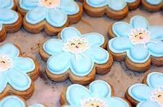 flower cookies - Bing Images