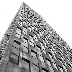 It's not a rental building, but it's still stunning.  #tribeca #architecture #nyc #newyork #newyorkcity #newyorker #manhattan #blackandwhite #building #windows #art #living #nycliving #considerliving
