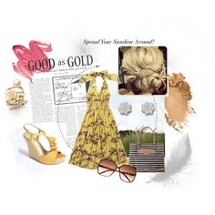 Sunshine, created by summergirl-914 on Polyvore
