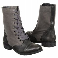 Wanted Women's Forge Lace Up Boot Boots (Black)