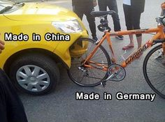 Show This To Whoever Has Doubts About German Quality. THECYCLINGBUG.CO.UK…