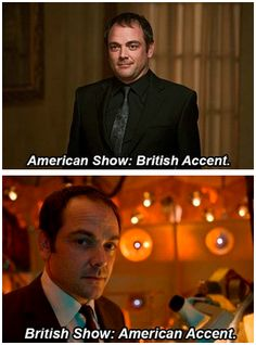 Mark Sheppard, everyone. I saw him on a rerun of Doctor Who the other day and was freaking out. I didn't remember him on the show, the Doctor should have killed him before he became the king of hell.