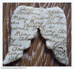 Krídla vianočná dekorácia.e