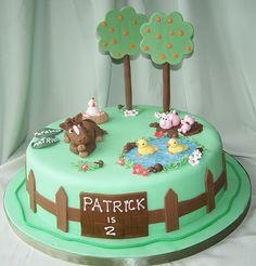 Farm Cake by cakespace - Beth (Chantilly Cake Designs), via Flickr