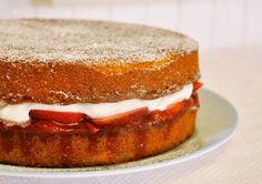 When we think of summer desserts, visions of Victoria sponge cake tempt us into the kitchen. The Victoria sponge isn't strictly a warm weather cake, but our favorite addition of fresh strawberries makes it especially appealing this time of year. Named after Queen Victoria, the cake, also known as a Victoria sandwich, is a classic at British teatime. Light and simple, it's a lovely, versatile dessert to add to one's repertoire, as it can accommodate a range of fillings, from jam to fresh…