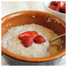 Chiagröt Chia Pudding, Omega 3, Chia Seeds, Raw Food Recipes, Superfood, Oatmeal, Protein, Sweets, Baking