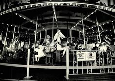 Roseland Carousel, Canandaigua, NY - The hand-carved carousel that took countless riders round and round was sold intact when the park closed. It now resides in a Syracuse mall.  (Photo: File photo 1985 )