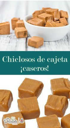How to make cajeta taffy (homemade recipe) - Pastry World Candy Recipes, Mexican Food Recipes, Sweet Recipes, Dessert Recipes, Comida Diy, Mexican Sweet Breads, Delicious Desserts, Yummy Food, Dessert Drinks