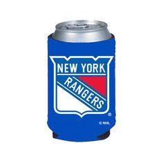 SET OF 2 NEW YORK RANGERS CAN /& BOTTLE KOOZIE COOLER