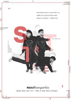 Street / Break Dance Poster (Hip-Hop) on Behance