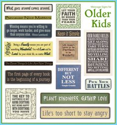 Positivity for Older Kids  #SubliminalParenting